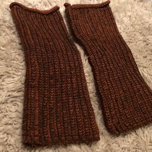 Accessories - Knitted leg warmers